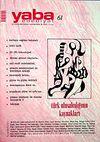Yaba Edebiyat Sayı: 61 Kasım-Aralık 2009