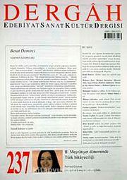 Dergah Edebiyat Sanat Kültür Dergisi Sayı:237 Kasım 2009