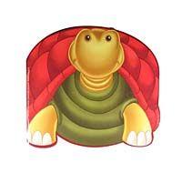 Kaplumbağa / Sevimli Hayvanlar Çıkartmalı Boyama -  pdf epub