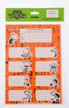 Saftirik Wimpy Kid Ders Programlı Okul Etiketi (SFT602)