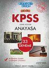 2012 KPSS Genel Kültür Anayasa 33 Deneme