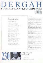Dergah Edebiyat Sanat Kültür Dergisi Sayı:230 Nisan 2009