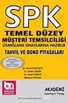 SPK Temel Düzey Müşteri Temsilciliği Lisanslama Sınavlarına Hazırlık & Tahvil ve Bono Piyasaları