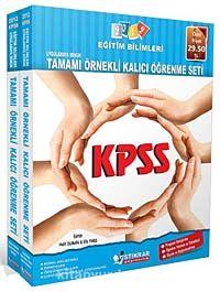 2012 KPSS Eğitim Bilimleri - Uygulamaya Dönük Tamamı Örnekli Kalıcı Öğrenme Seti - Komisyon pdf epub
