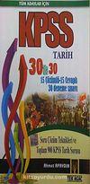 KPSS Tüm Adaylar İçin Tarih 30'da 30 Çözümlü 15 Çözümlü 15 Cevaplı 30 Deneme Sınavı