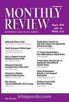 Monthly Review Bağımsız Sosyalist Dergi Sayı:36 Mayıs 2014