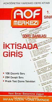 İktisada Giriş Soru Bankası 1. SınıfAçıköğretim Yardımcı Ders Kitabı - İrfan Özen pdf epub