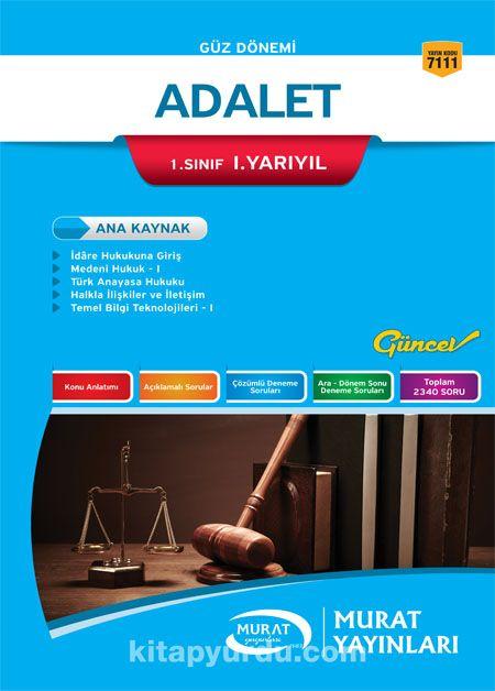 Adalet 1. Sınıf 1. Yarıyıl - Kollektif pdf epub