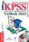 KPSS Eğitim Bilimleri Yaprak Test