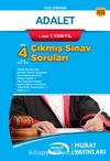 Adalet 1. Sınıf 1. Yarıyıl Çıkmış Sınav Soruları (Kod:7113)