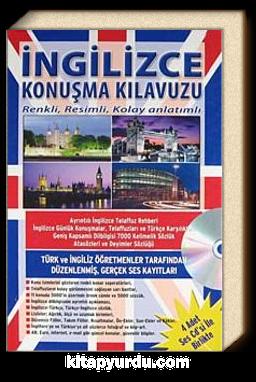 İngilizce Konuşma Kılavuzu & Dilbilgisi Sözlük Renkli Resimli Kolay Anlatımlı (Kitap+4 CD)