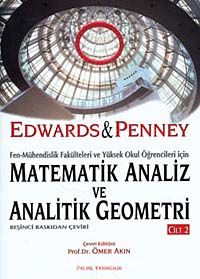 Matematik Analiz ve Analitik Geometri Cilt 2 - Edwards pdf epub
