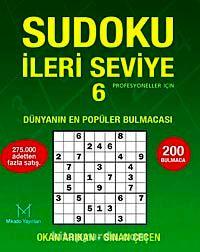 Sudoku İleri Seviye 6Profesyoneller İçin - Sinan Çeçen pdf epub