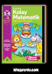Çıkartmalarla Kolay Matematik 5-6 Yaş