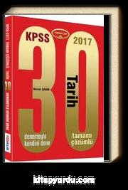 2017 KPSS Tarih 30 Çözümlü Deneme