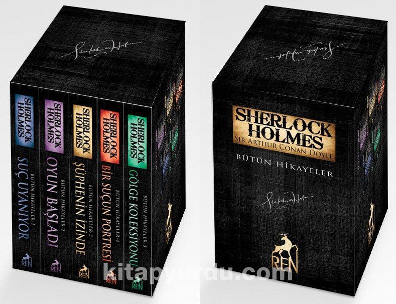 Sherlock Holmes Bütün Hikayeler (5 Kitap Kutulu Set)