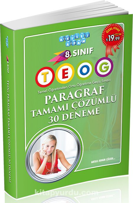 8. Sınıf TEOG Paragraf Tamamı Çözümlü 30 Deneme - Kollektif pdf epub