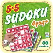 5x5 Sudoku -8 (4+ Yaş)