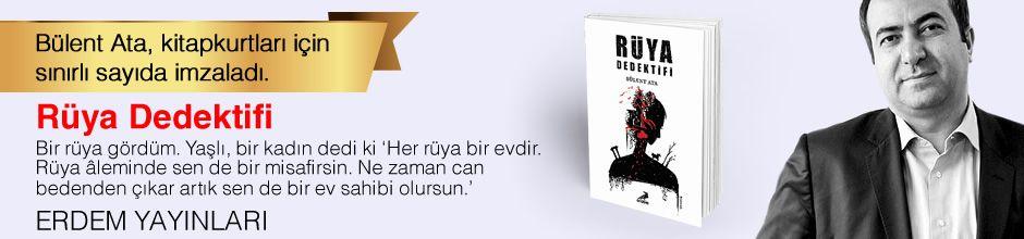 Rüya Dedektifi. Bülent Ata, Kitapkurtları için Sınırlı Sayıda İmzaladı.