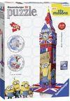 3D Puz Big Ben Minions 216 Parça (RPB125890)