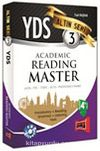 YDS Academic Reading Master Altın Seri 3