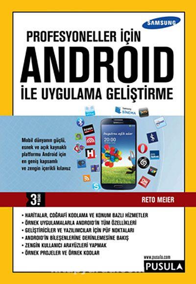 Profesyoneller İçin Android ile Uygulama Geliştirme - Reto Meier pdf epub