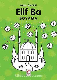 Okul Öncesi Elif Ba Boyama -  pdf epub