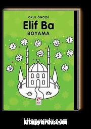 Okul öncesi Elif Ba Boyama Bilal Gezer Kitapyurducom