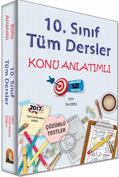 10. Sınıf Tüm Dersler Konu Anlatımlı - Kollektif pdf epub