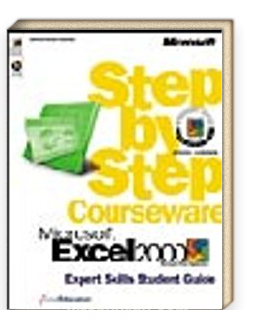 Microsoft  Excel 2000 Step by Step Courseware Expert Skills Class Pack