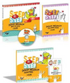Step By Step Prescholl Book+Coloring Books+Flashcards+Cd