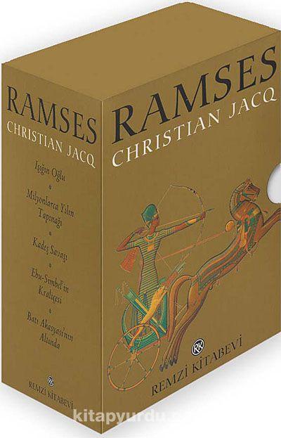 Ramses Kutulu Takım (5 Kitap Roman Boy)