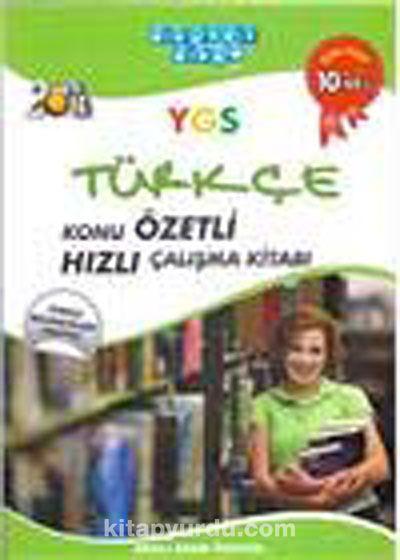2013 YGS Türkçe Konu Özetli Hızlı Çalışma Kitabı -  pdf epub