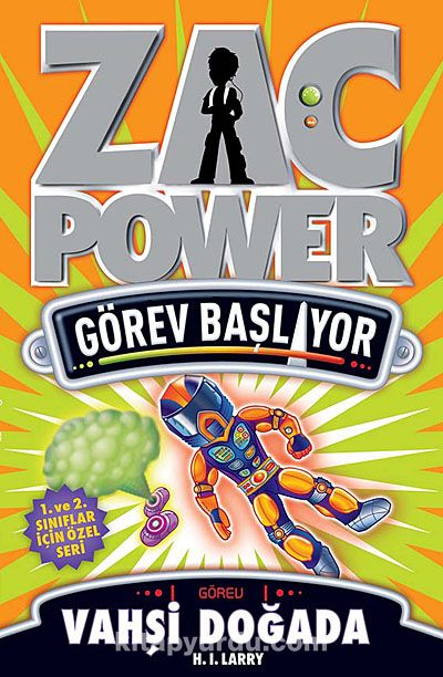 Vahşi Doğada / Zac Power - H. I. Laryy pdf epub