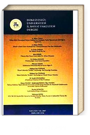 D.E.Ü. İlahiyat Fakültesi Dergisi-25 (2-H-10)