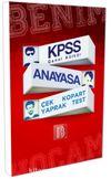 KPSS Genel Kültür Anayasa Çek Kopart Yaprak Test