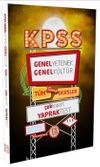 2017 KPSS Genel Yetenek Genel Kültür Tüm Dersler Çek Kopart Yaprak Test