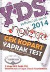2014 YDS İngilizce Çek Kopart Yaprak Test