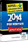 2014 KPSS Anayasa Püf Noktası