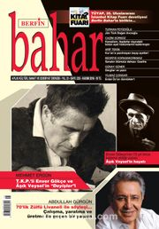 Berfin Bahar Aylık Kültür Sanat ve Edebiyat Dergisi Kasım 2016 Sayı: 225