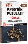 2017 KPSS'nin Pusulası Türkçe Konu Anlatımlı