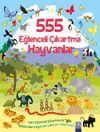 555 Eğlenceli Çıkartma / Hayvanlar