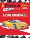 Ferrari Çıkartma Kitabı Spor Arabalar