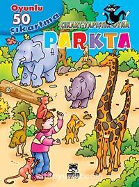 Parkta / Oyunlu 50 Çıkartma - Çıkart-Yapıştır-Oyna -  pdf epub