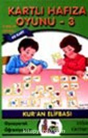 Kartlı Hafıza Oyunu -3 (Arapça Harfler ve Sayılar)
