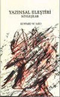 Yazınsal Eleştiri : Söyleşiler - Edward W. Said pdf epub