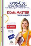 KPDS-ÜDS- KPSS-Proficiency Dinle-Çöz Bilinçaltı Öğrenme Metoduyla Exam Master Soru Bankası
