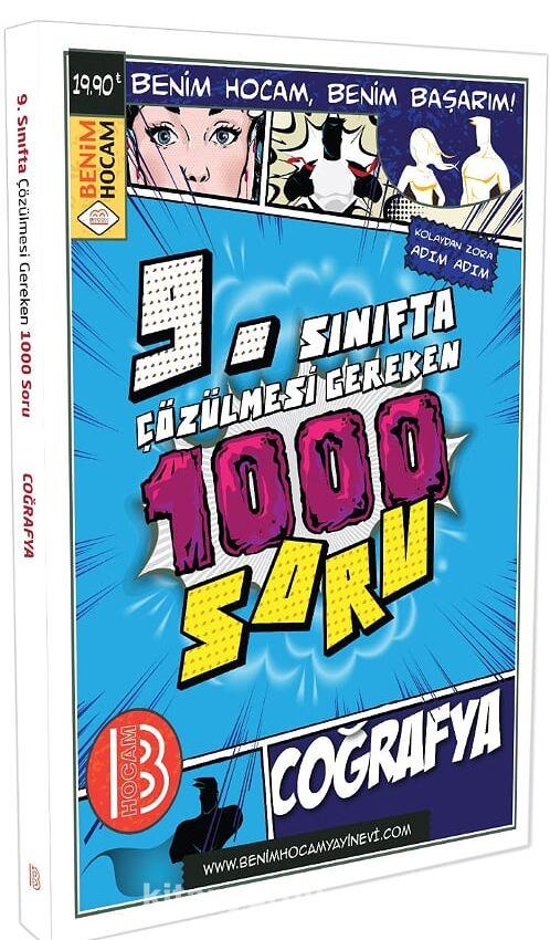 9. Sınıfta Çözülmesi Gereken 1000 Soru Coğrafya