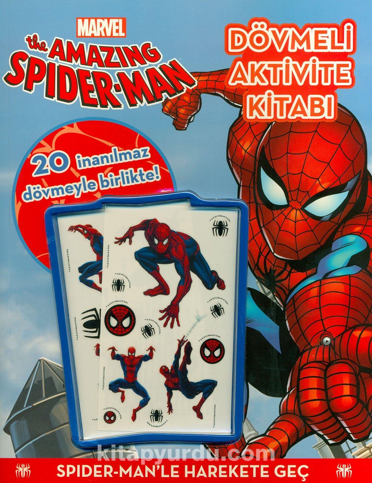 Marvel The Amazing Spider-Man:Dövmeli Aktivite Kitabı - Kollektif pdf epub