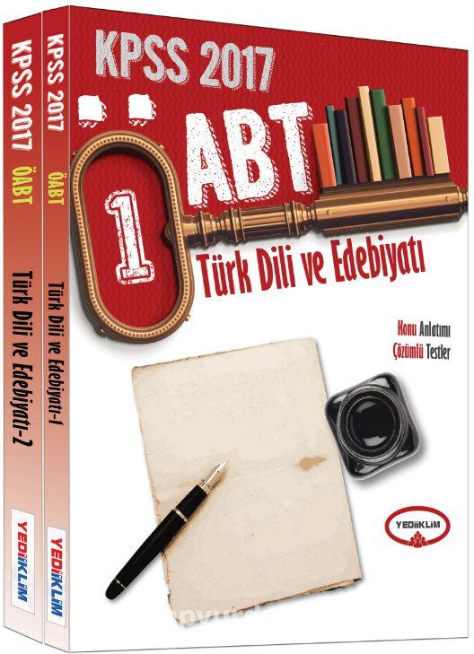 2017 ÖABT Türk Dili ve Edebiyatı Modüler Konu Anlatımlı Set (2 Kitap)
